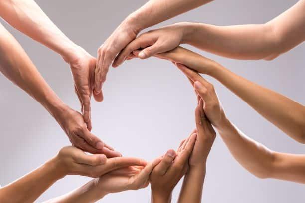 le cercle des mains