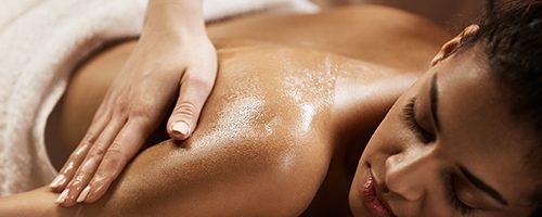 Massage du dos à l'huile | Delphine Cottone à Seurre